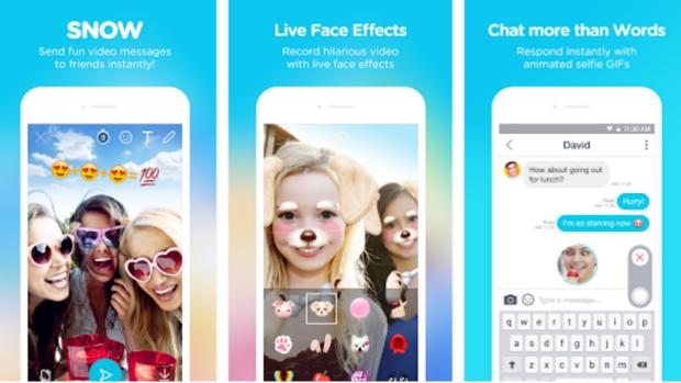snow apps digital addicts