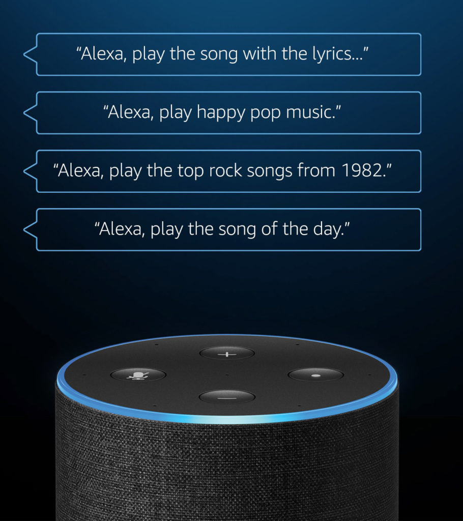 Amazon Music Unlimited Digital Addicts Ask Alexa