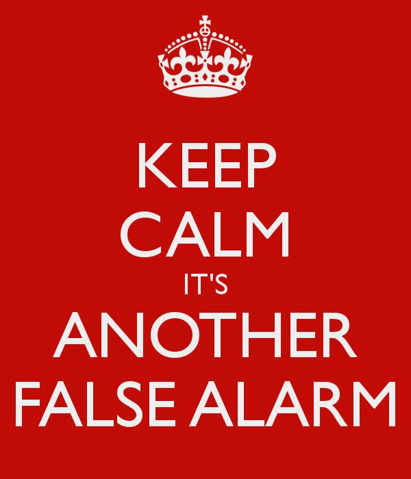 digital addicts false alarms