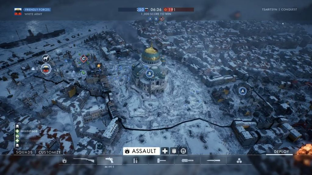Digital Addicts Battlefield 1 video game map Tsaritsyn