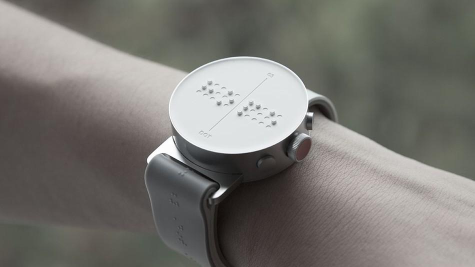Digital Addicts braille dot watch smartwatch top spy