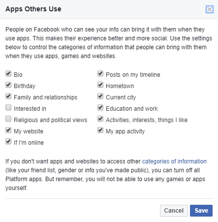 How To (Mostly) Stop Facebook From Sharing Your Data
