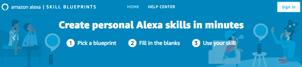 Digital Addicts Alexa Skills Blueprints