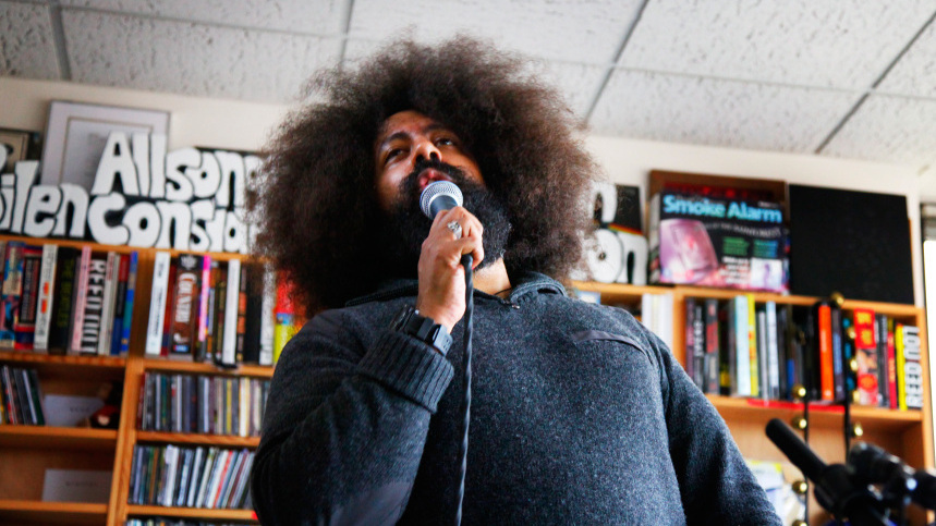 Digital Addicts Reggie Watts On NPR's Tiny Desk Concert Series