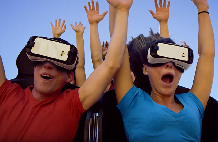 six flags virtual reality roller coasters