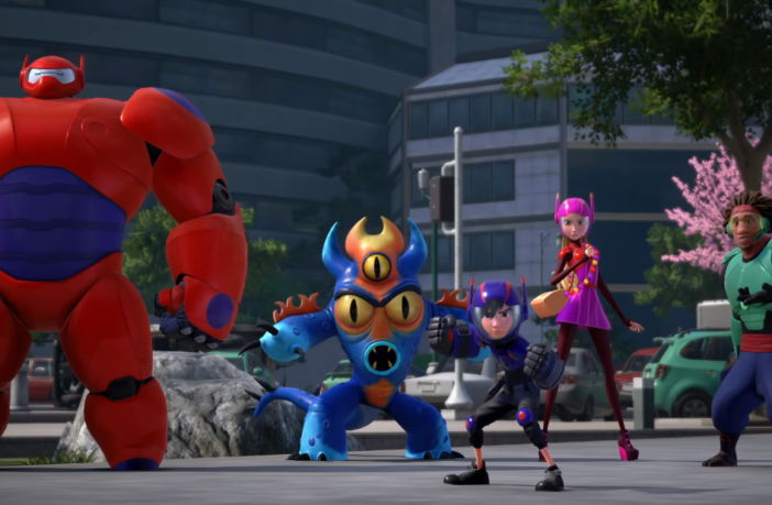 Kingdom Hearts 3 Big Hero 6