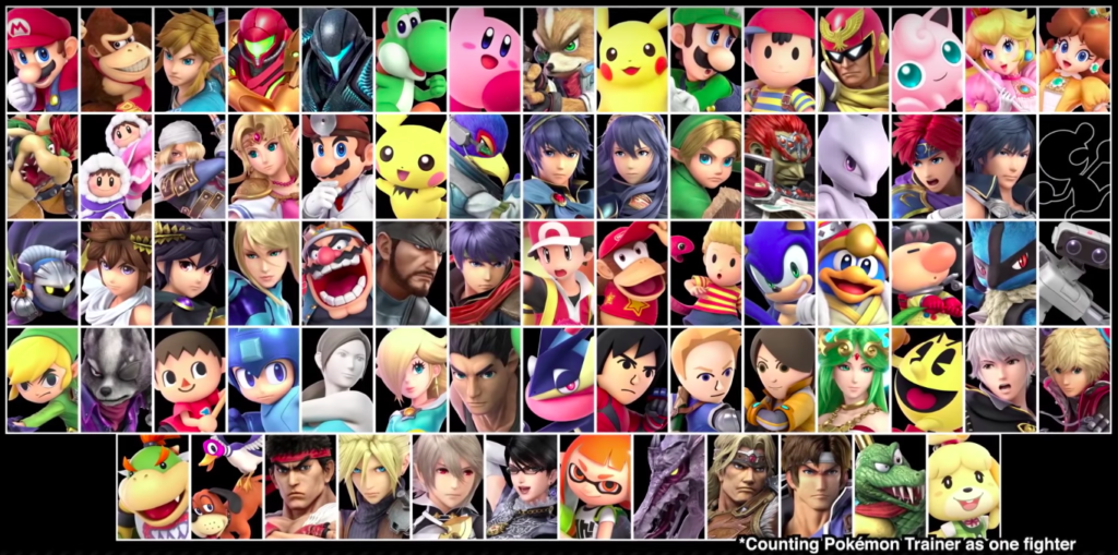 Updates From The Super Smash Bros Ultimate Direct!