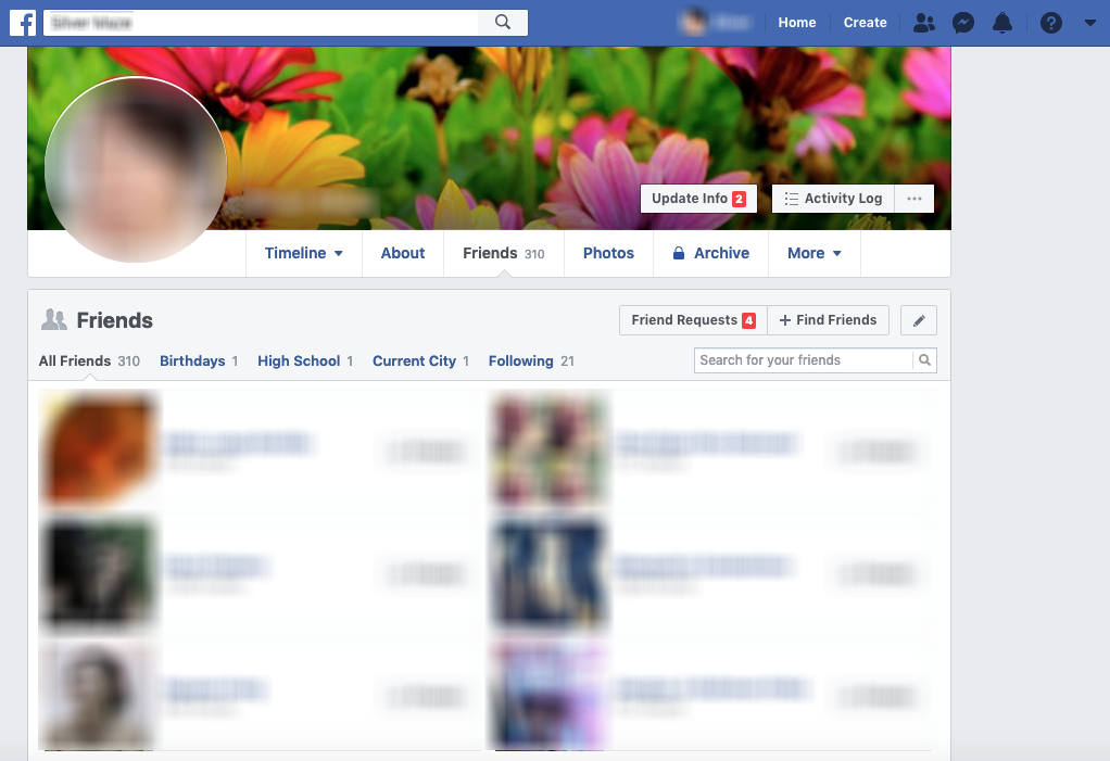 How Do I View My Friends On Facebook? - Digital Addicts